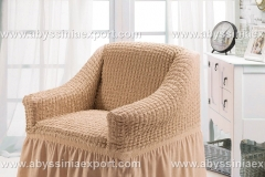Bürümcük koltuk örtüsü tekli  bal