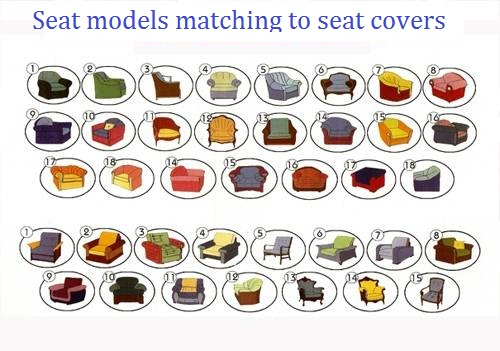 Seat models matching to seat covers